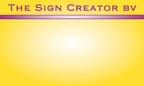The Sign Creator
